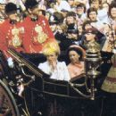 Lady Diana Spencer and Prince Charles wedding - 29 July 1981 - 454 x 524
