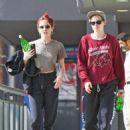 Kristen Stewart and Sara Dinkin – Leaving a gym in Hollywood - 454 x 462