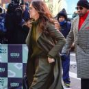 Hailee Steinfeld – Arriving at AOL Build Series in New York