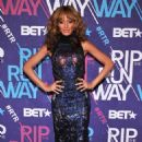 "Selita Ebanks arrives to ""BET's 2012 Rip The Runway"" taping in New York on February 29, 2012"