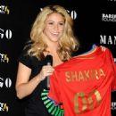Shakira Presents Charity Solidarity T-Shirts