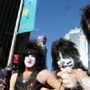 Kiss visits the Sirius Studios in NYC
