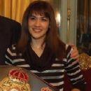 Argentine female karateka