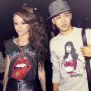 Cher Lloyd and Zayn Malik - 454 x 507