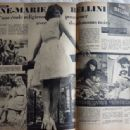 Anne-Marie Bellini - Festival Magazine Pictorial [France] (25 October 1960) - 454 x 336