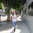 Miranda Cosgrove Leaving Dolce And Gabbana On Robertson Boulevard In West L.A., September 22 2009