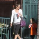 Rhea Durham Takes Her Kids Out In Beverly Hills - 454 x 565