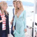 Petra Nemcova On The Beach In Cannes