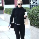 Jennifer Morrison In Tights Out and About In La