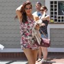 Kelly Brook - Out And About In LA - May 29, 2010