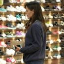 Jennifer Garner takes her daughter Seraphina shopping for shoes in Brentwood, California on December 19, 2013