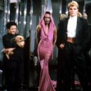 Dolph Lundgren and Grace Jones
