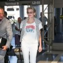 Sharon Stone – Arriving at LAX Airport in Los Angeles