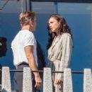 Gal Gadot and Chris Pine  – Filming 'Wonder Woman 1984' in Washington - 454 x 681