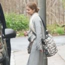 Jenna Louise Coleman and Sophie Kennedy-Clarke – Filming 'The Cry' in Glasgow - 454 x 683