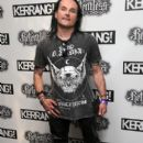 Dani Filth attends the Relentless Energy Drink Kerrang! Awards at the Troxy on June 11, 2015 in London, England.