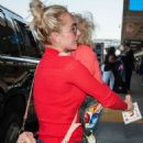 Hayden Panettiere at LAX airport in Los Angeles - 454 x 685