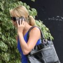 Stacy Keibler Leaving The Gym - July 9 2008