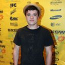 Josh Hutcherson premiered his new movie Detention at the Alamo South Lamar Theater today, March 13