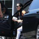 Kourtney Kardashian Going To A Studio In La