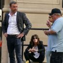 Katherine Moennig and Liev Schreiber – Filming 'Ray Donovan' in NYC - 454 x 591