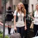 """Blake Lively - On The Set Of """"Gossip Girl"""" In Brooklyn - August 11 '08"""