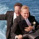 Michael Douglas and Albert Brooks in Warner's The In-Law - 2003