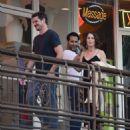 Robin Tunney – Leaving Sushi Park Restaurant in Los Angeles - 454 x 520