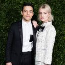 Lucy Boynton attends the Charles Finch & Chanel pre-BAFTA's dinner at Loulou's on February 09, 2019 in London, England - 399 x 600