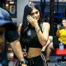 Kylie Jenner–Out and about in Miami - 454 x 681