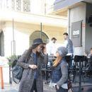 Cansu Dere & Burcin Terzioglu Out In Nisantasi, Istanbul