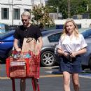 Chloe Moretz at a Trader Joe's store in Los Angeles
