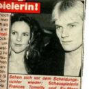Sting and Frances Tomelty