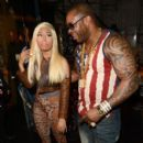 Nicki Minaj Rhymes the 2012 BET Awards at The Shrine Auditorium on July 1, 2012 in Los Angeles