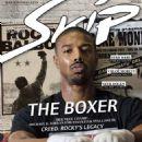 Michael B. Jordan - Skip Magazine Cover [Austria] (December 2015)