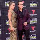 Ximena Duque and Carlos Ponce- Telemundo's Latin American Music Awards 2015 - Red Carpet