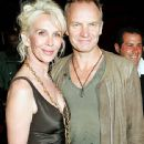 Sting and Trudie Styler - 454 x 707