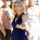 Elsa Pataky – Filming 'Tidelands' on Stradebroke Island - 454 x 681