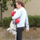 Jennifer Garner – Leaving a boxing class in Los Angeles - 454 x 666