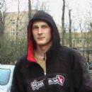 Russian male karateka