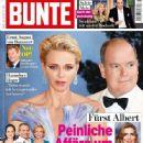 Prince Albert II and Charlene Wittstock - 446 x 600