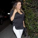 Eva Longoria – Arrives at Mr. Chow Restaurant in Beverly Hills - 454 x 692