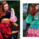 Karen Elson - Harper's Bazaar Magazine Pictorial [Russia] (August 2016) - 454 x 292