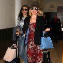 Naomi Watts in Long Dress – Arrives in Australia