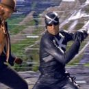 MATTHEW FOX as Racer X fighting in a scene from Warner Bros. Pictures' and Village Roadshow Pictures' action adventure 'Speed Racer,' distributed by Warner Bros. Pictures. Photo courtesy of Warner Bros. Pictures
