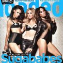 Heidi Range, Jade Ewen, Amelle Berrabah - Loaded Magazine Cover [United Kingdom] (September 2011)