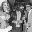 Jerry Hall & Mick Jagger with Yves Saint Laurent