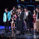 2010 MTV Awards Gibson Amphitheatre at Universal Studios on June 6, 2010 - 454 x 290