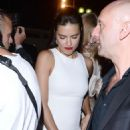 Adriana Lima Soiree Chopard Gold Party At 2015 Cannes Film Festival In Cannes