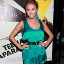 Cassie Scerbo - Premiere Of HBO Documentary Films' 'Teenage Paparazzo' At The Pacific Design Center On September 21, 2010 In West Hollywood, California